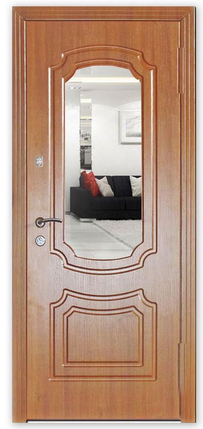 современные железные двери мдф
